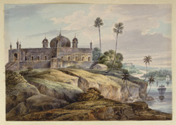 N19 Mosque at Bhaughulpoor. Septr 1820